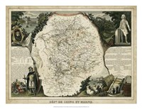 Atlas Nationale Illustre VI Fine Art Print