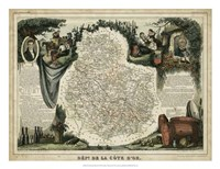 Atlas Nationale Illustre IX Fine Art Print
