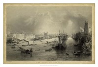 The Port of London Fine Art Print