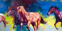 Running Wild by Julie Chapman - various sizes, FulcrumGallery.com brand