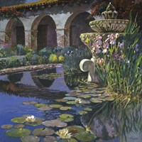 Fountain at San Miguel I Fine Art Print