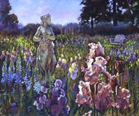 Garden Wait by Clif Hadfield - various sizes, FulcrumGallery.com brand