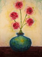 Big Blue Vase Fine Art Print
