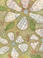Textured Petals II Framed Print