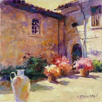 Umbrian Sunlight by Julie G Pollard - various sizes