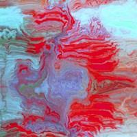 Coral Glass II Framed Print