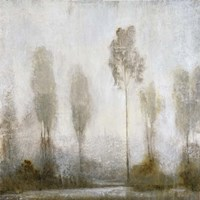 Misty Marsh II Fine Art Print