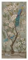 Gardenia Chinoiserie II Framed Print