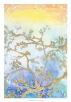 "Gilt Branches II by Jennifer Goldberger - 18"" x 26"""