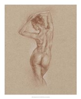 Standing Figure Study I Framed Print