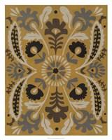 """Golden Suzani I by Chariklia Zarris - 24"""" x 30"""" - $49.99"""