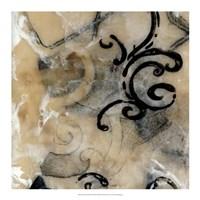 """Swirls & Whirls III by Jennifer Goldberger - 18"""" x 18"""""""