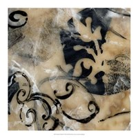 """Swirls & Whirls IV by Jennifer Goldberger - 18"""" x 18"""""""