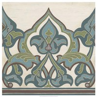 Non-Embellished Persian Frieze I Fine Art Print