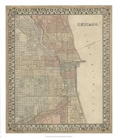 Plan of Chicago Fine Art Print