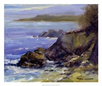 Surf on the Rocks Fine Art Print
