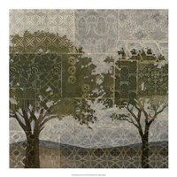 """Patterned Arbor II by Megan Meagher - 20"""" x 20"""""""