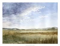 Montana Horizon I Framed Print