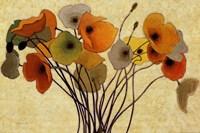 Pumpkin Poppies I Fine Art Print
