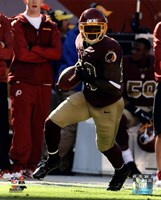 Pierre Garcon with the ball 2013 Fine Art Print