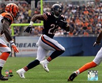 Matt Forte in action 2013 Fine Art Print