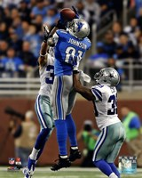 Calvin Johnson 2013 catching the ball Fine Art Print