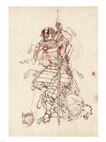 Samurai Sketch - various sizes