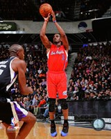Chris Paul 2013-14 Action in basketball Fine Art Print