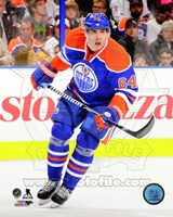 Nail Yakupov on ice 2013-14 Fine Art Print