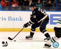 Vladimir Tarasenko in action 2013-14 Fine Art Print