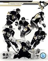 "Pittsburgh Penguins 2013-14 Team Composite - 8"" x 10"""