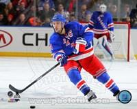 Ryan Callahan on ice 2013-14 Fine Art Print