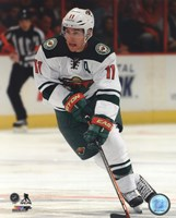 Zach Parise 2013-14 Action Fine Art Print