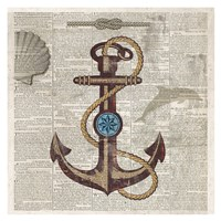 "Nautical Collection I - Mini by Drako Fontaine - 13"" x 13"""