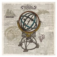 Nautical Collection III - Mini Fine Art Print