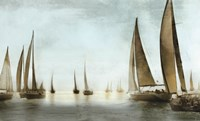 Golden Sails Fine Art Print