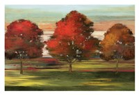 """Trees in Motion by Allison Pearce - 37"""" x 25"""""""
