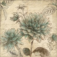 Blue Botanical II by Aimee Wilson - various sizes