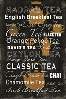 Tea Collection Fine Art Print
