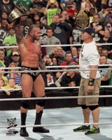 Randy Orton & John Cena 2013 Survivor Series Action Fine Art Print
