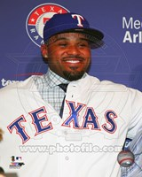 Prince Fielder 2013 Press Conference Fine Art Print