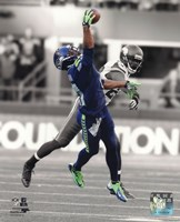 Percy Harvin 2013 Spotlight Action Fine Art Print