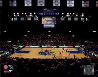 Allen Fieldhouse University Court of Kansas Jayhawks 2012 Fine Art Print