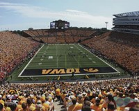 Kinnick Stadium University of Iowa Hawkeyes 2013 Fine Art Print