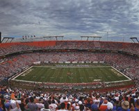 Sun Life Stadium University of Miami Hurricanes 2013 Fine Art Print
