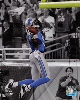 Calvin Johnson 2013 Spotlight Fine Art Print