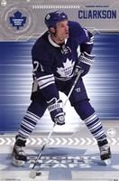 "Toronto Maple Leafs - D Clarkson 13 - 22"" x 34"""
