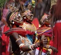 "People of the Samburu tribe by Panoramic Images - 24"" x 22"" - $39.99"