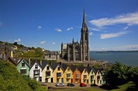 """St Colman's Cathedral, Cobh, County Cork, Ireland by Panoramic Images - 24"""" x 16"""", FulcrumGallery.com brand"""