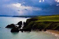 Ballydowane Beach, Copper Coast, County Waterford, Ireland Fine Art Print